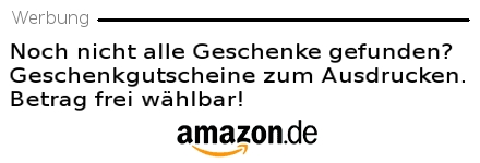 Amazon Geschenk Gutschein